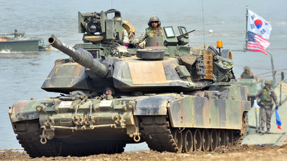 US M1A2 tank (AFP Photo/Jung Yeon-Je)