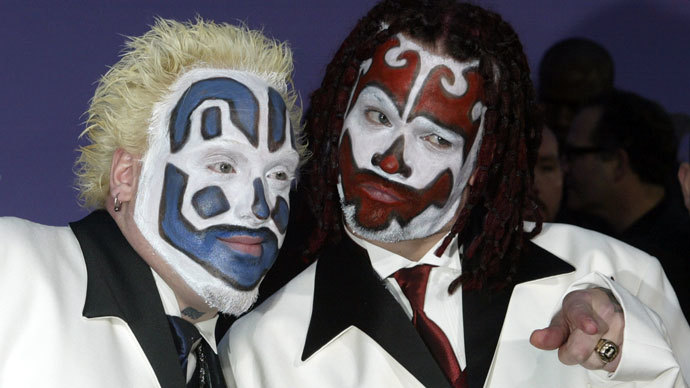 Members of the Insane Clown Posse.(Reuters / Fred Prouser)