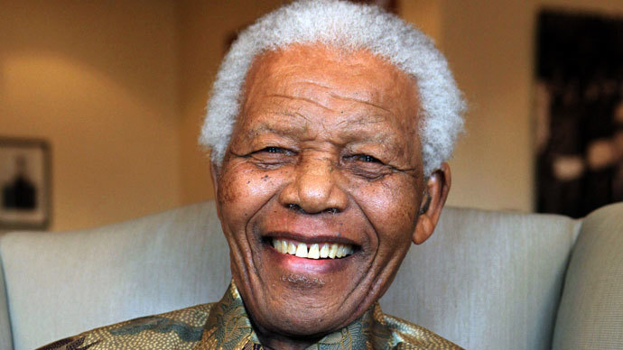 Nelson Mandela.(AFP Photo / Debbie Yazbek)