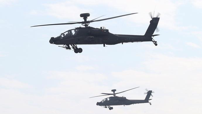 AH-64E Apache.(Reuters / Stringer)