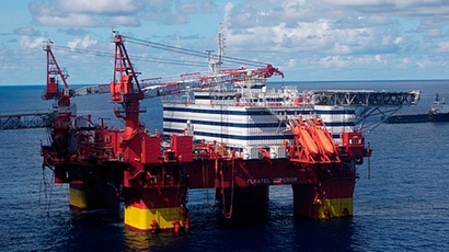 Statoil rig Floatel Superior in the Norwgian Sea (AFP Photo / Lowres picture)