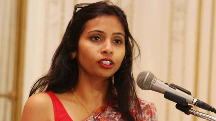 India's Deputy Consul General in New York, Devyani Khobragade (Reuters / Mohammed Jaffer)
