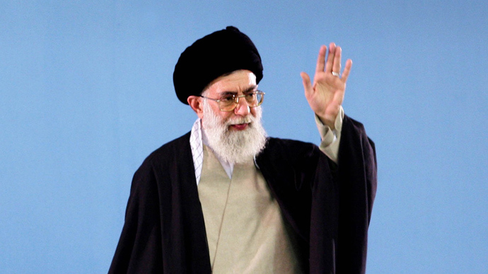 Iran's Supreme Leader Ayatollah Ali Khamenei (Reuters / Irna)