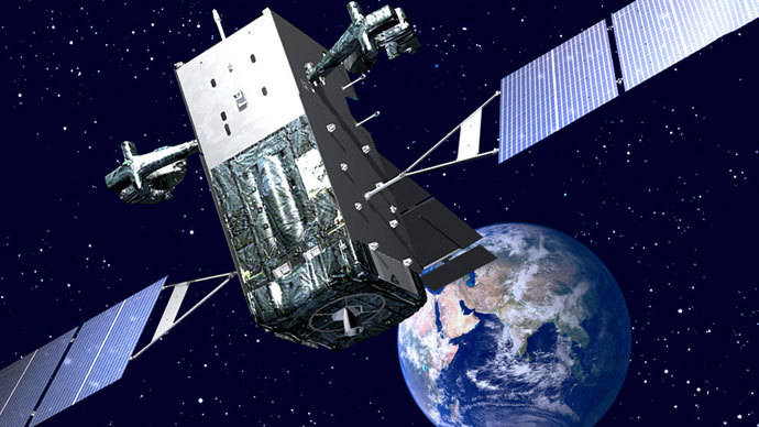 An artist's illustration of a Lockheed Martin-built Space Based Infrared System Geosynchronous (SBIRS) missile warning satellite of the US military in orbit. (Image: Lockheed Martin)