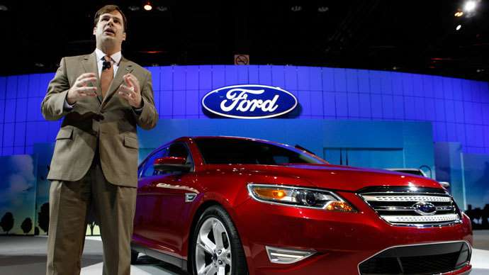 Ford Group Vice President Marketing and Communications Jim Farley.(Reuters / John Gress)