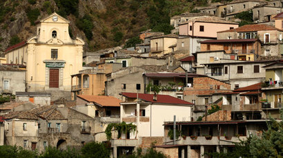 A general view of the Calabrian village of San Luca, Italy.(Reuters / Tullio Puglia)