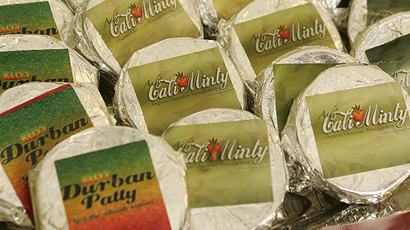 "Marijuana laced cookies for sale at a medical marijuana ""club"" (AFP Photo / Robyn Beck)"