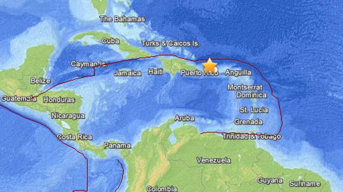 6.5 quake hits off Puerto Rico coast