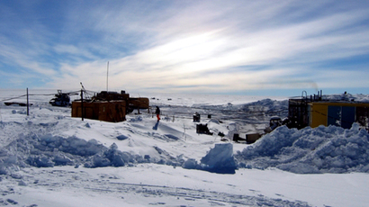 A general view of the Vostock research camp in Antarctica (Reuters / Alexey Ekaikin)