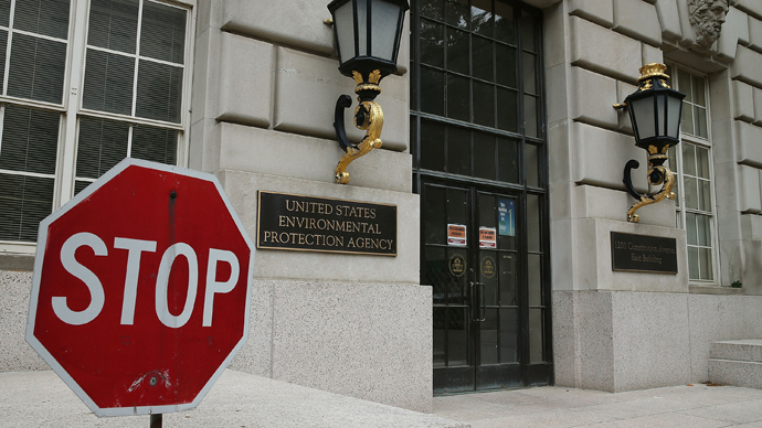 Environmental Protection Agency (EPA) building in Washington, DC (AFP Photo /  Mark Wilson)