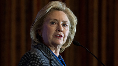 Hillary Clinton (AFP Photo / Nicholas Kamm)