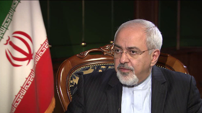 Iranian FM Javad Zarif (Still from RT video)