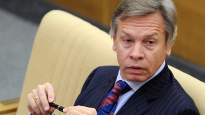 Aleksei Pushkov, chairman of the Russian State Duma Committee for International Affairs (RIA Novosti/Vladimir Fedorenko)