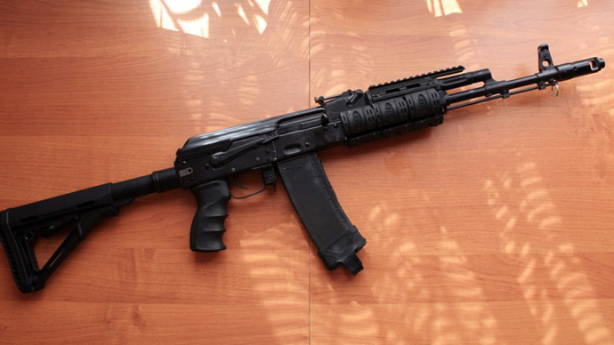 Hunting carbine Saiga Mk .223 Rem (Photo from wikipedia.ru)