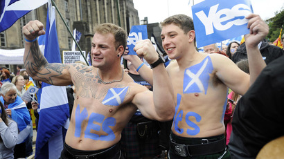 Scots lose pound if they vote 'yes' to independence in September - Osborne