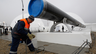 Gazprom ready to complete South Stream without international finance