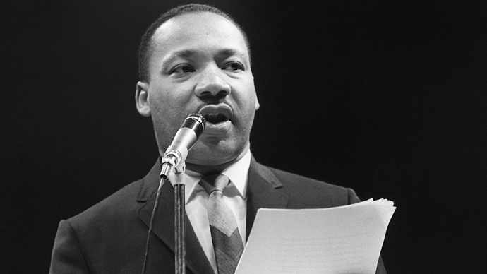 Martin Luther King (AFP Photo)