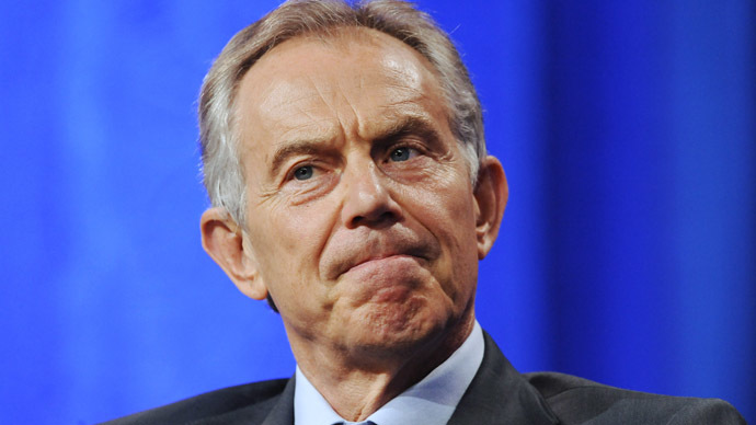 Former British Prime Minister Tony Blair (Reuters/Gus Ruelas)