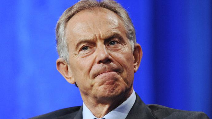 London barman attempts citizen's arrest on ex-UK PM Blair over Iraq 'war crimes'