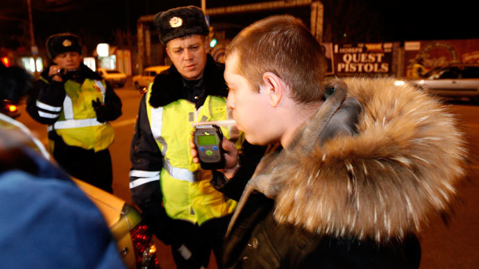 Police suspend Russian driver's license for 106 years over drunk driving
