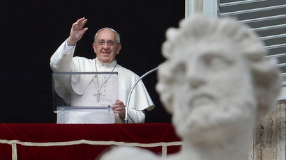 Pope Francis.(AFP Photo / Vincenzo Pinto)