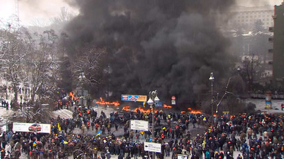 Ukraine unrest slams currency, Russia's $15bn aid crucial to avert further collapse