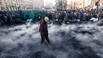 Activists or antagonists: Are Kiev rioters seeking solutions or scuffles?