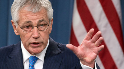 US Secretary of Defense Chuck Hagel.( AFP Photo / Paul J. Richards)