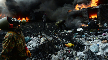 Kiev, January 23, 2014 (AFP Photo / Vasily MAaximov)