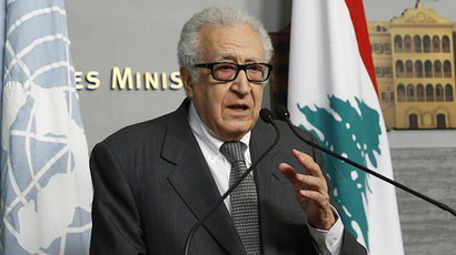 United Nations Peace Envoy for Syria Lakhdar Brahimi (Reuters / Mohamed Azakir)