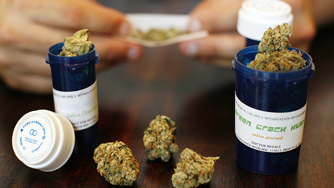 File photo of medical marijuana on display (Reuters / Mario Anzuoni)