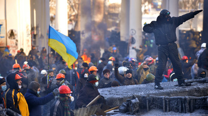 Kiev, January 24, 2014 (AFP Photo/Sergei Supinsky)