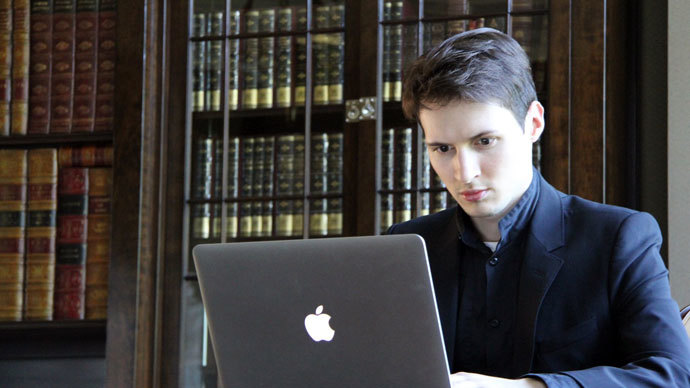 Pavel Durov.(Photo from vk.com/durov)