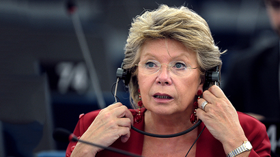 European Union Commissioner for Justice Viviane Reding (AFP Photo / Frederick Florin)
