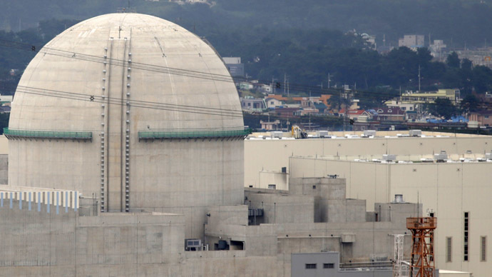 The new Shin Kori No. 3 reactor of state-run utility Korea Electric Power Corp (KEPCO) is seen in Ulsan, about 410 km (255 miles) southeast of Seoul, September 3, 2013. (Reuters/Lee Jae-Won)