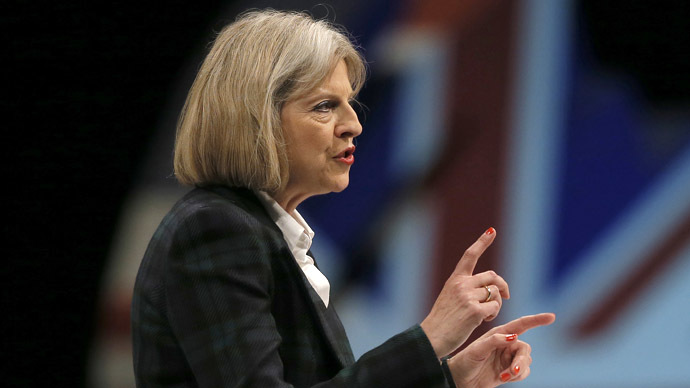 Britain's Home Secretary Theresa May (Reuters/Phil Noble)