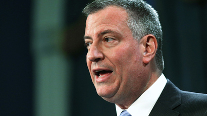 New York City Mayor Bill de Blasio (Spencer Platt / Getty Images / AFP)