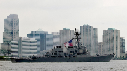 US destroyer Donald Cook enters Black Sea amid Ukraine tension (VIDEO)