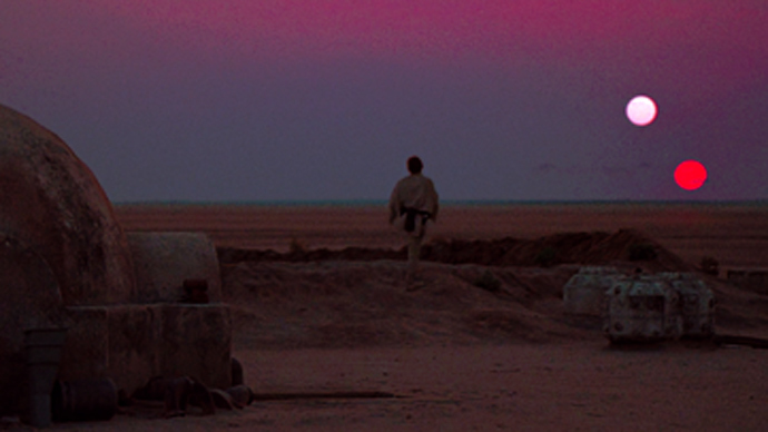 Tatooine (Image from wikipedia.org)