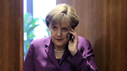 Germany's Chancellor Angela Merkel (Reuters/Yves Herman)