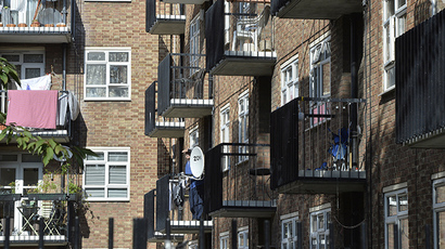 A residential high rise block of flats in Notting Hill in central London (Reuters / Toby Melville)