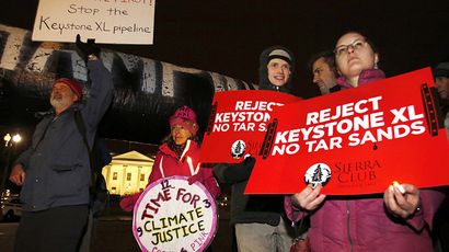 Hundreds arrested at Keystone XL White House sit-in protest