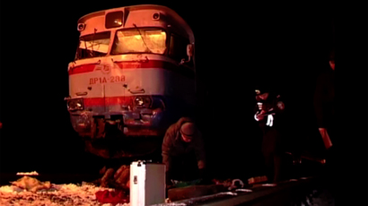 Gas-freight train derailment causes rail havoc in Сentral Russia (VIDEO, PHOTO)