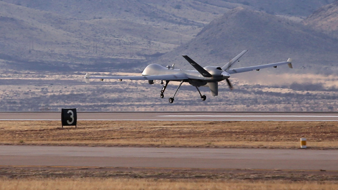 A Predator drone  (AFP Photo / John Moore)