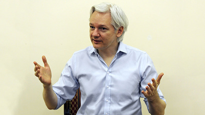 Wikileaks founder Julian Assange (Reuters / Anthony Devlin)