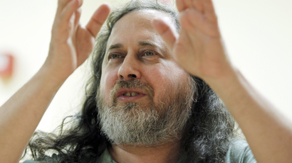 Scandal is not spying on governments, but on people – Stallman to RT