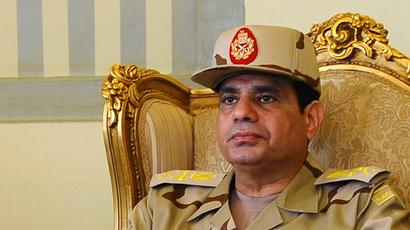 Egypt's Defense Minister Abdel Fattah al-Sisi (Reuters / Stringer)