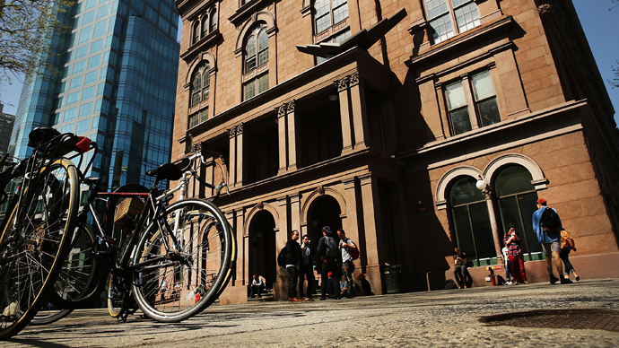 Cooper Union for the Advancement of Science and Art in New York City (AFP Photo / Spencer Platt)