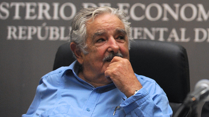Jose Mujica (AFP Photo / Miguel Rojo)