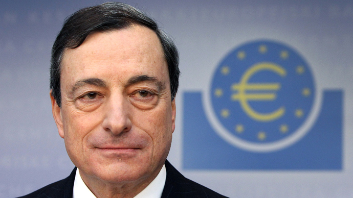 Mario Draghi, President of the European Central Bank (AFP Photo / Daniel Roland)
